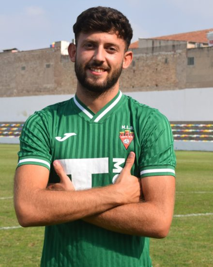 Sergio Pérez Llosa es jugador del Aspe UD