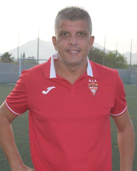 Antonio Díez Aznar - Taca - es entrenador del Aspe UD