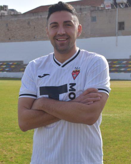 Viri Ayala jugador del Aspe Unión Deportiva Senior A