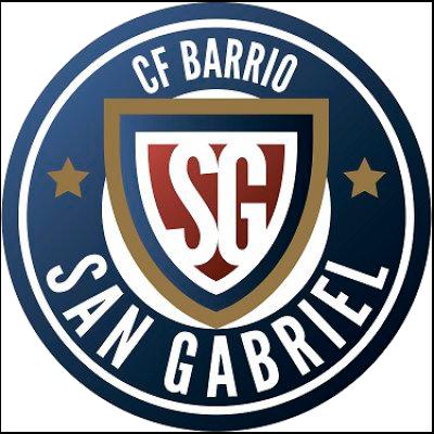 Escudo CF Barrio San Gabriel de Alicante