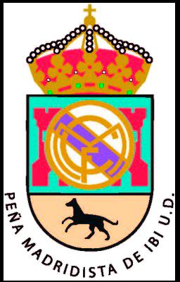 Escudo Peña Madridista de Ibi Unión Deportiva